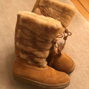J Crew Sherling Boots